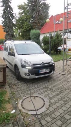 služební automobil pečovatelské služby