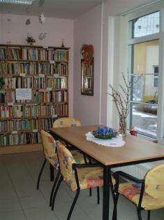knihovna pečovatelská služba